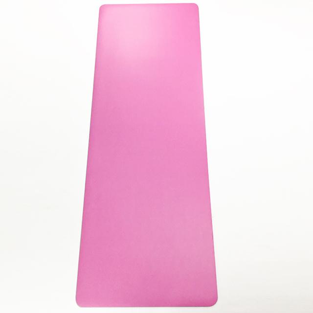 PU yoga mat-pink